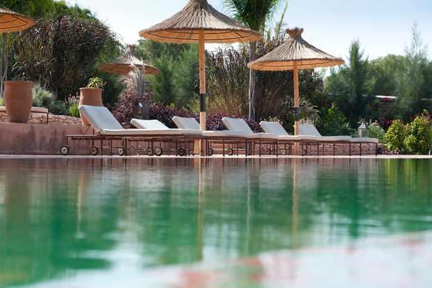 Adult pool at Jardin Des Douars Hotel Essaouira
