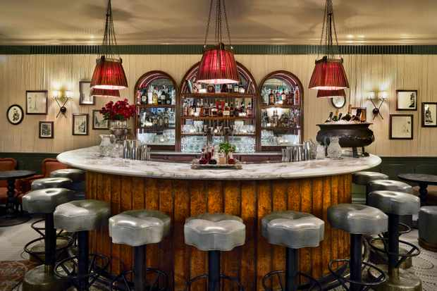 Champagne Bar at Kettner's Townhouse