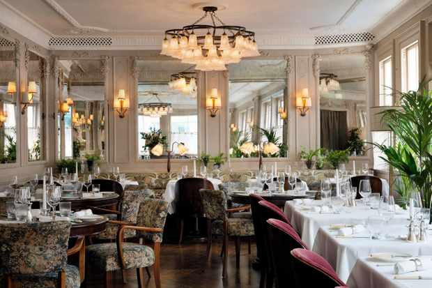 Dining room at Kettner's Townhouse