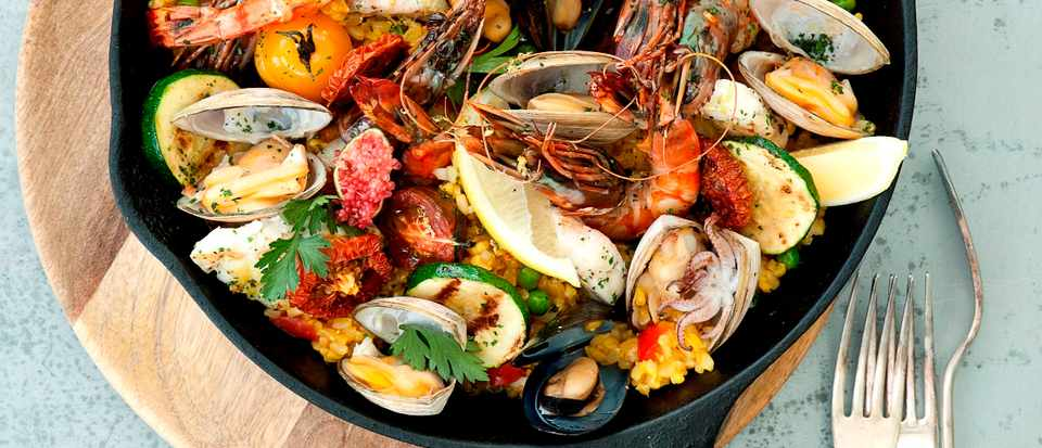 Gwinganna Lifestyle Retreat - Seafood Paella