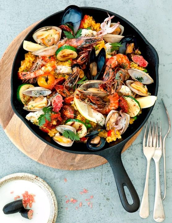 Gwinganna Lifestyle Retreat - Seafood Paella