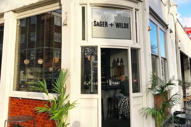 Front exterior of Sager + Wilde Hackney Road