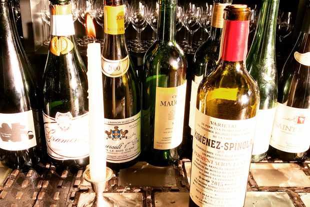 Unusual wines at Sager + Wilde Hackney Road