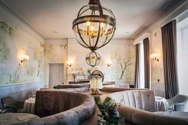 luxe interiors at lympstone manor. Interior Photographer Bristol, Commercial Photographer Bristol