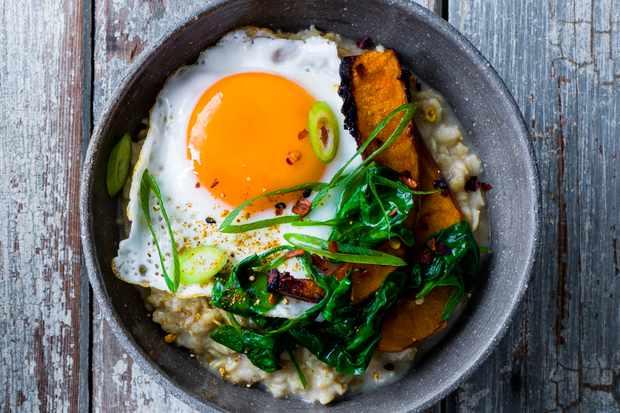 Spicy Japanese veg porridge recipe