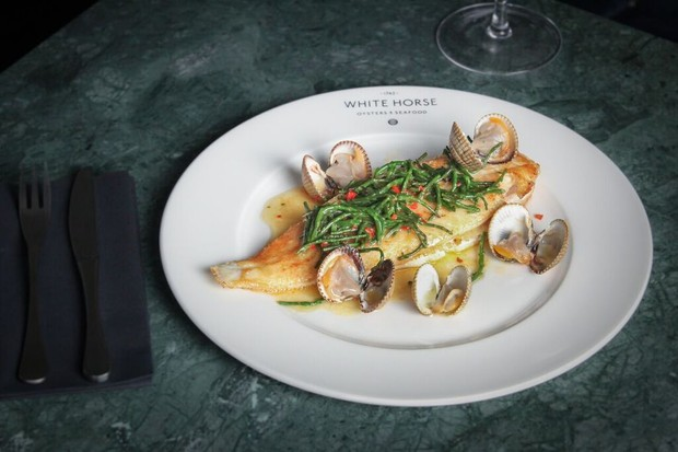 Whole lemon sole | White Horse Oyster and Seafood Bar