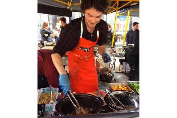 Yorkshire Burrito Henry Preen Yorkshire Pudding Wraps