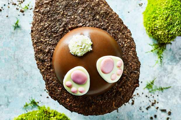 Marks and Spencer's burrowing bunny Easter egg