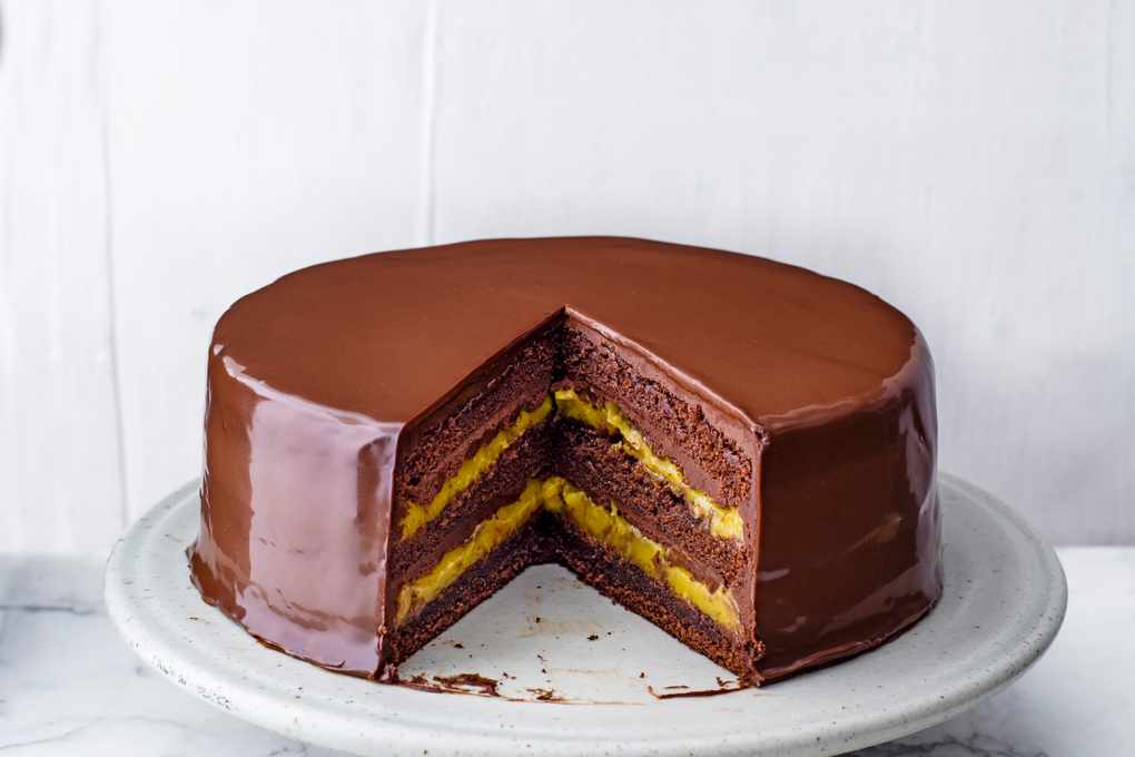 Chocolate Passion Fruit Cake Recipe