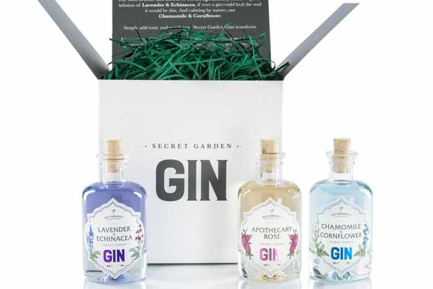 Curiosity gin set of three gins