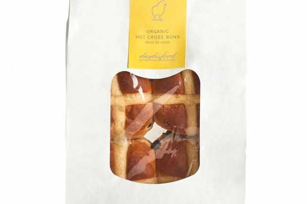 Daylesford Organic Hot Cross Buns