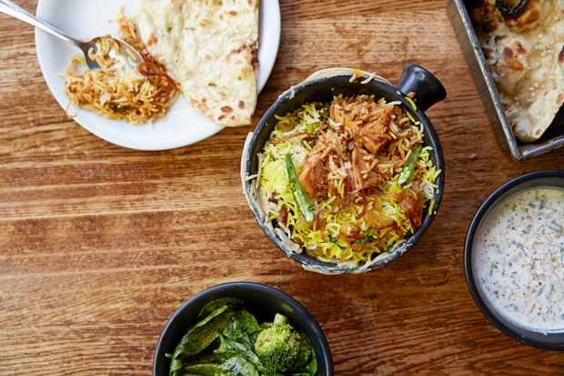 Dishoom, jackfruit curry
