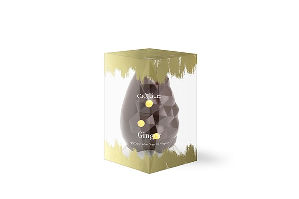 Hotel Chocolat Dark Chocolate Ginger Easter Egg