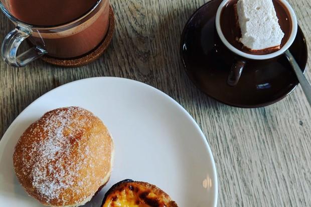 Pump Street Bakery hot chocolate