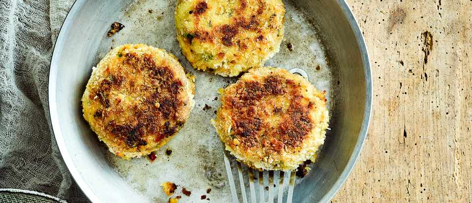 Cod Fish Cake Recipe with Sweet Potato and Ginger