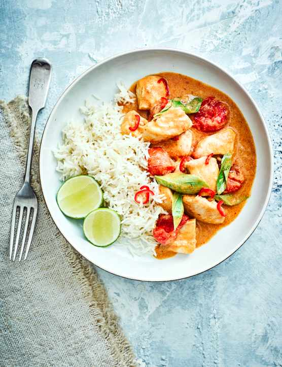 Panang Curry Recipe with Chicken