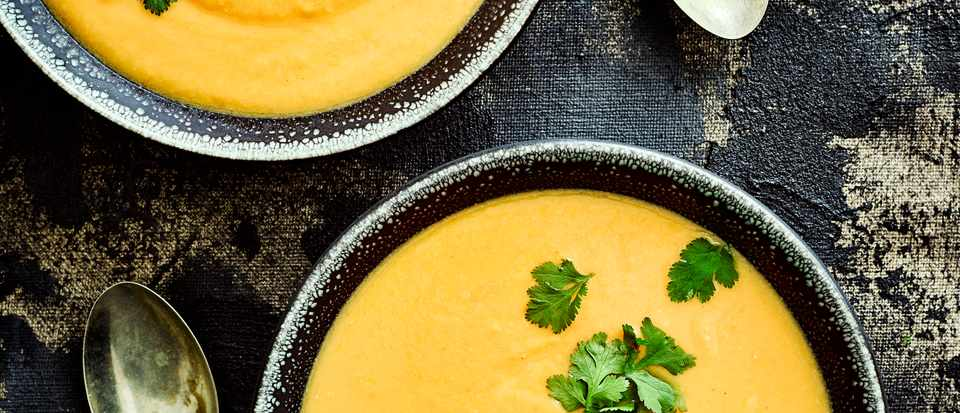 Sweet Potato Peanut Soup Recipe Olivemagazine