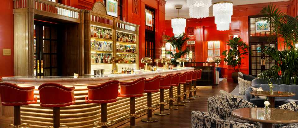 The Coral Room Bloomsbury Hotel Bar Review Olivemagazine