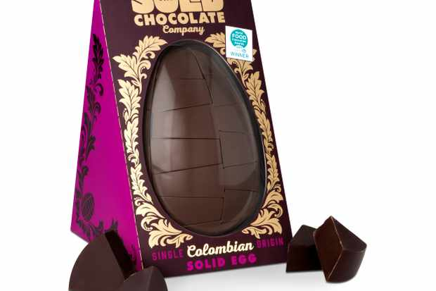 The Solid Chocolate company Easter egg