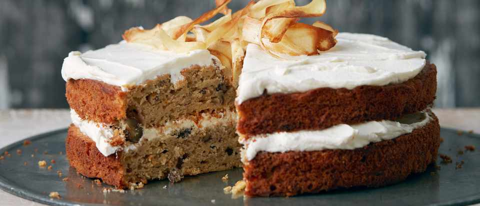 Parsnip And Maple Syrup Cake