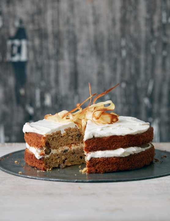 Parsnip Cake Recipe with Maple Syrup