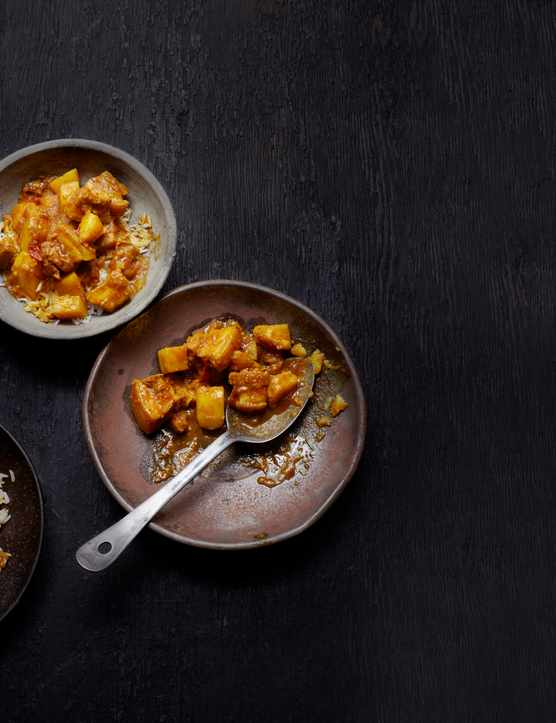 Burmese Pork Curry Recipe with Potato