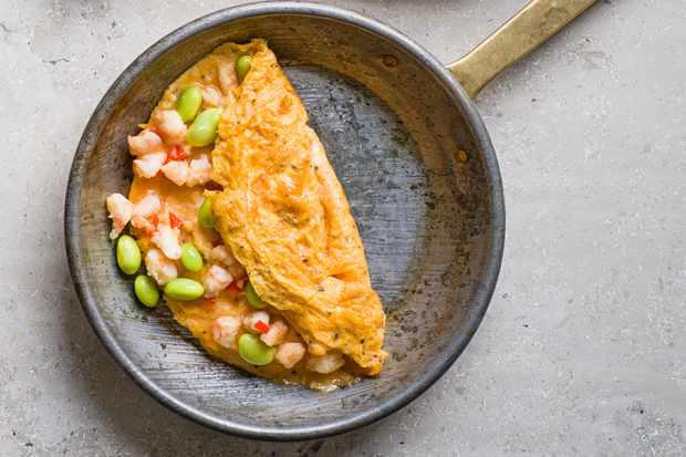 Asian spicy prawn recipe