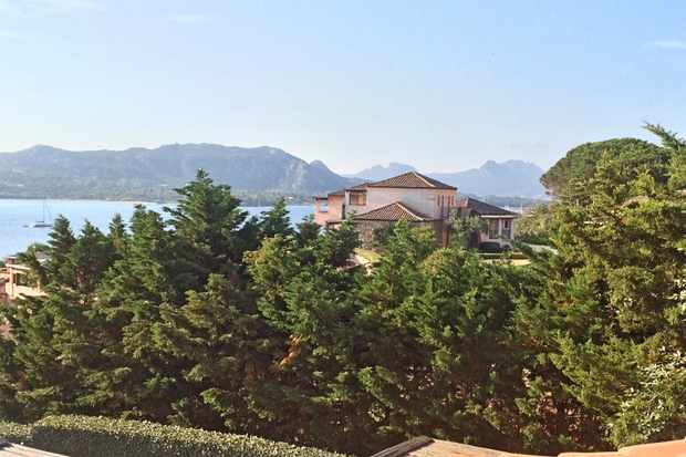 A view from the Villa Del Golfo