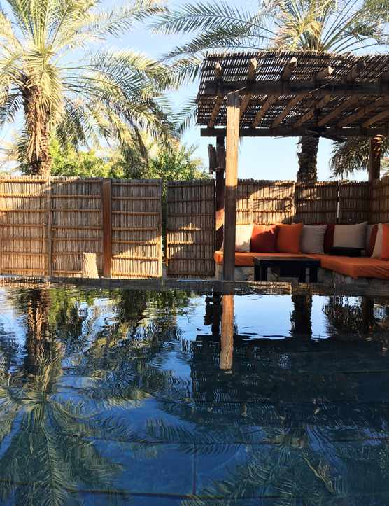 Six Senses Zighy Bay swimming pool