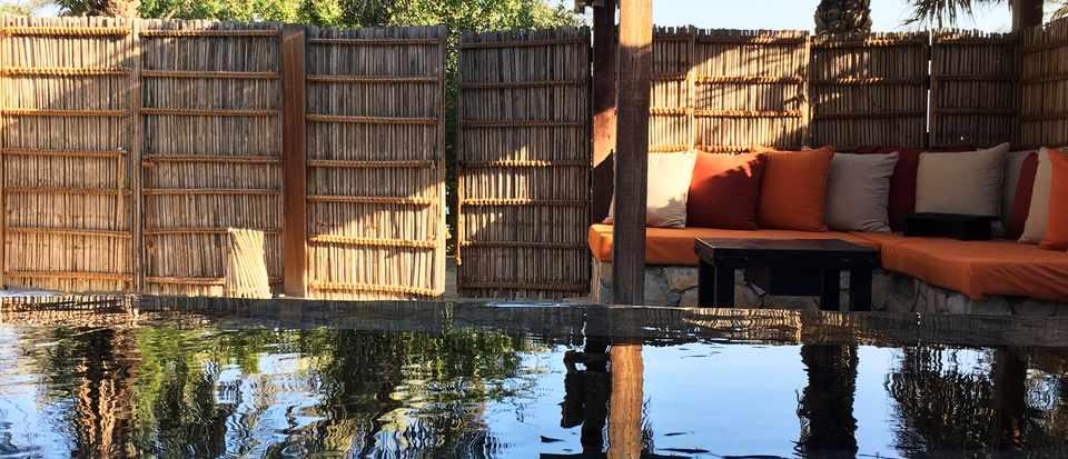 Six Senses Zighy Bay swimming pool