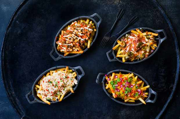 Loaded Fries Recipe   4 Quick and Easy Ways to Top Your Fries