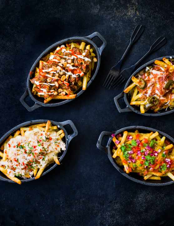Loaded Fries Recipe | 4 Quick and Easy Ways to Top Your Fries