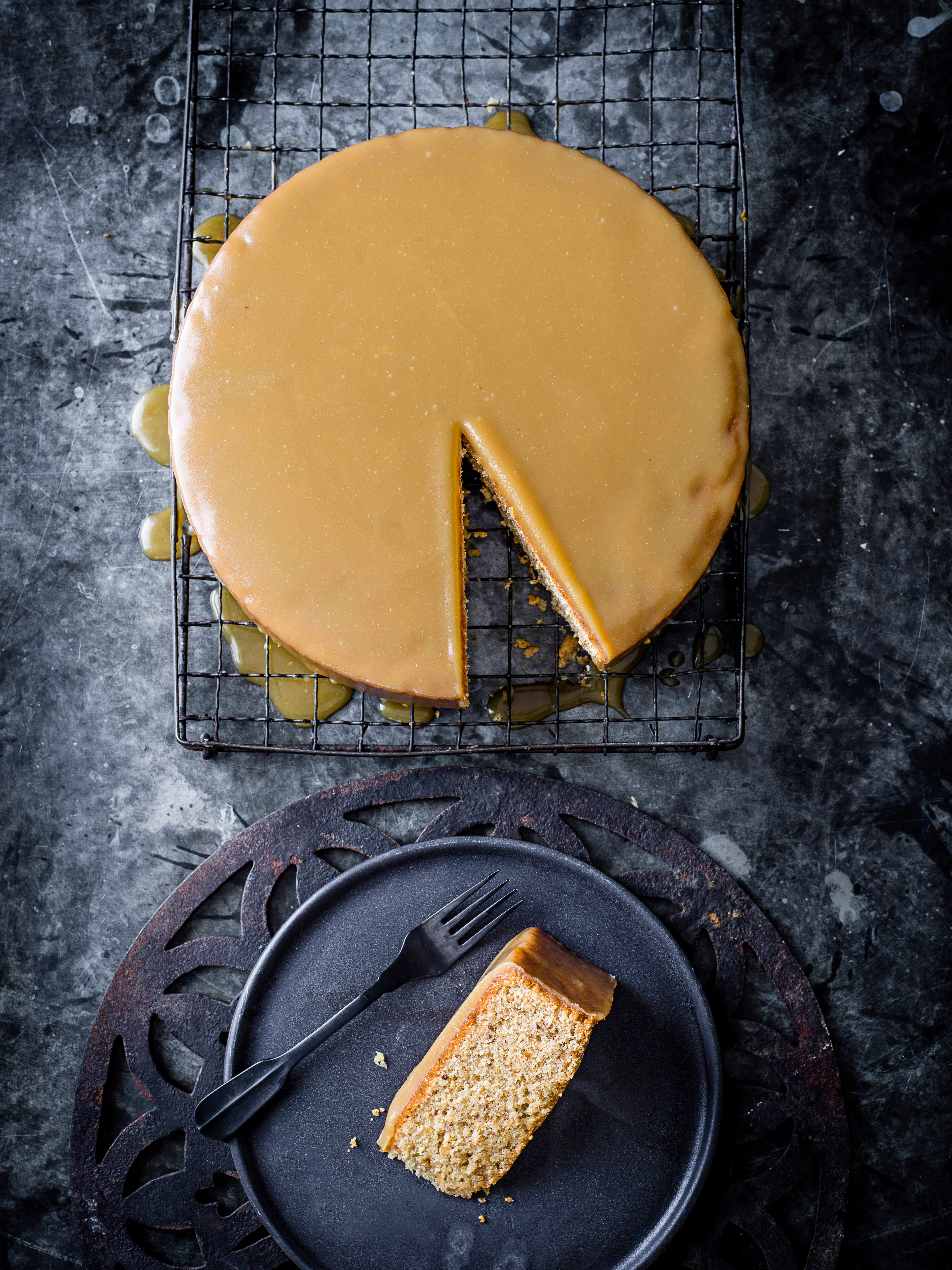 Hazelnut Brown Butter Cake Recipe
