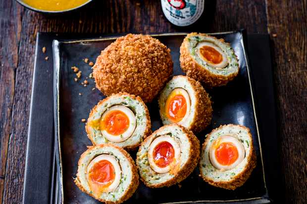 Japanese Scotch Egg Recipe