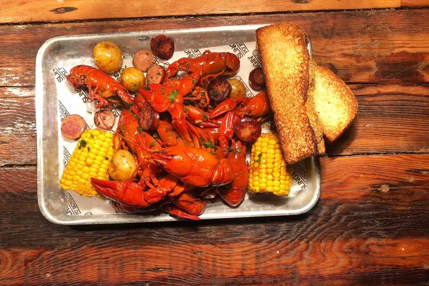 Bayou Bar Crawfish Boil