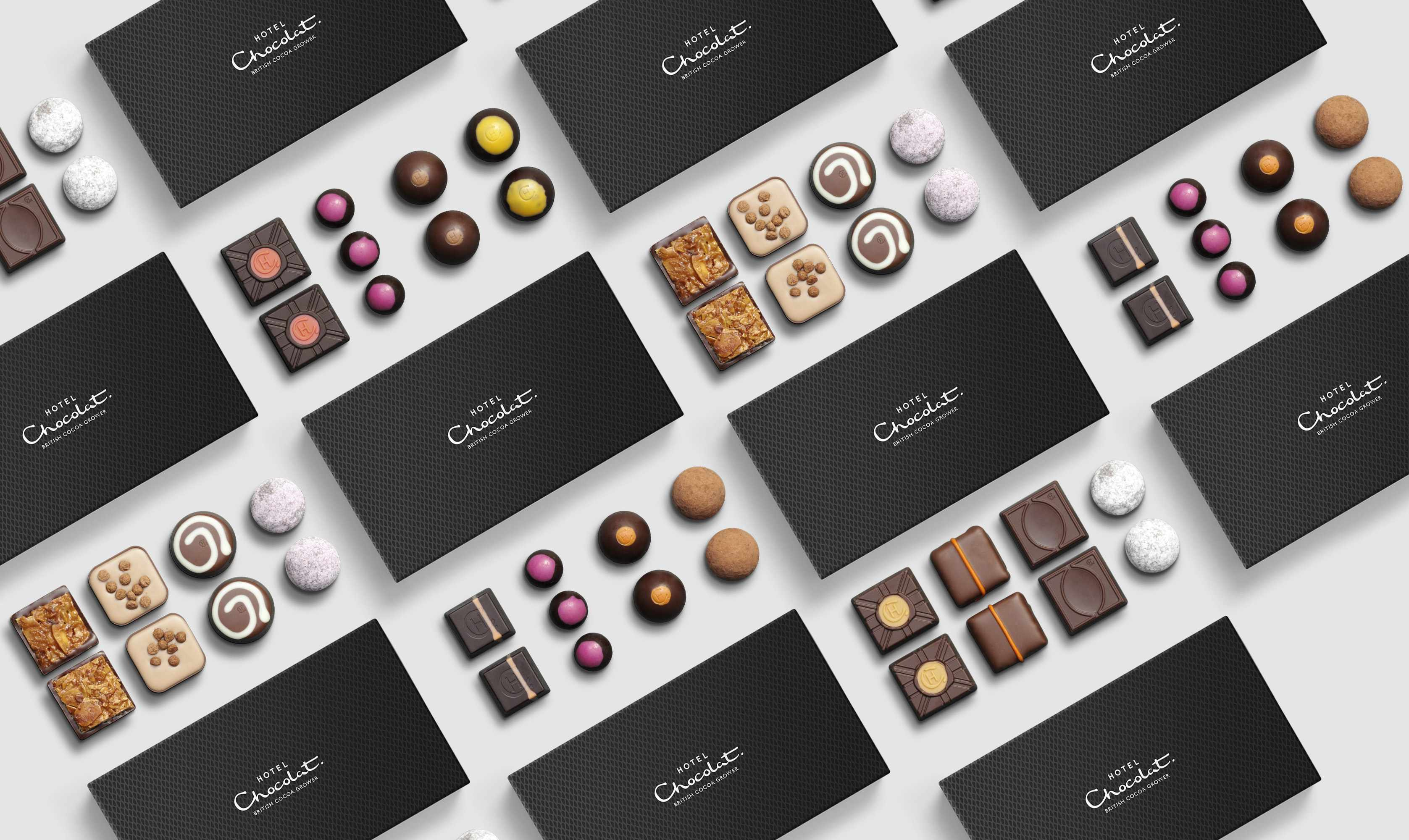 Hotel Chocolat chocolate delivery box selection