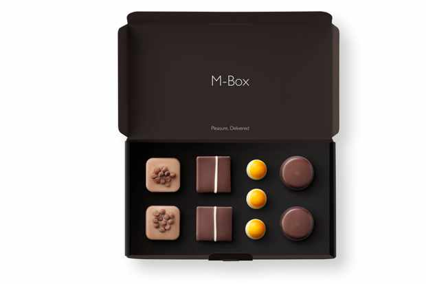Hotel Chocolat individual delivery box of chocolates