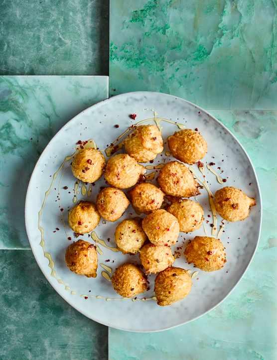 Deep Fried Goat's Cheese Balls Recipe