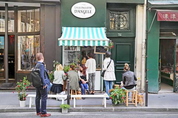 La Guinguette d'Angèle, Paris
