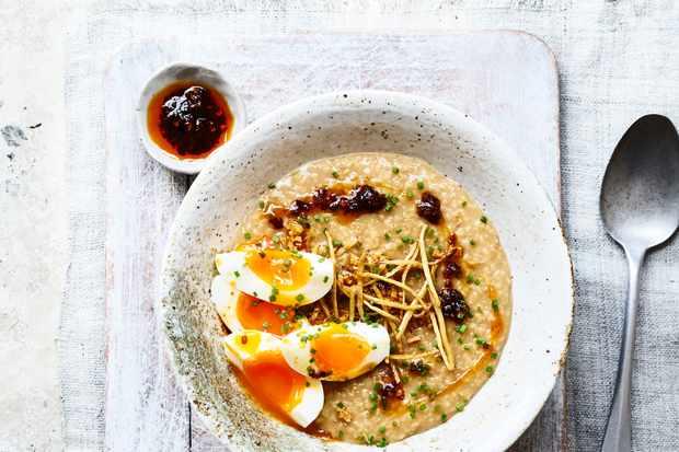 Savoury Porridge Recipe (Congee)