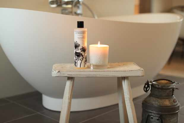 Cowshed toiletries in every room