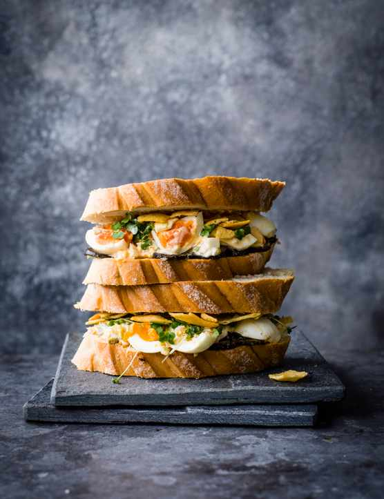 Egg Mayo Sandwich Recipe