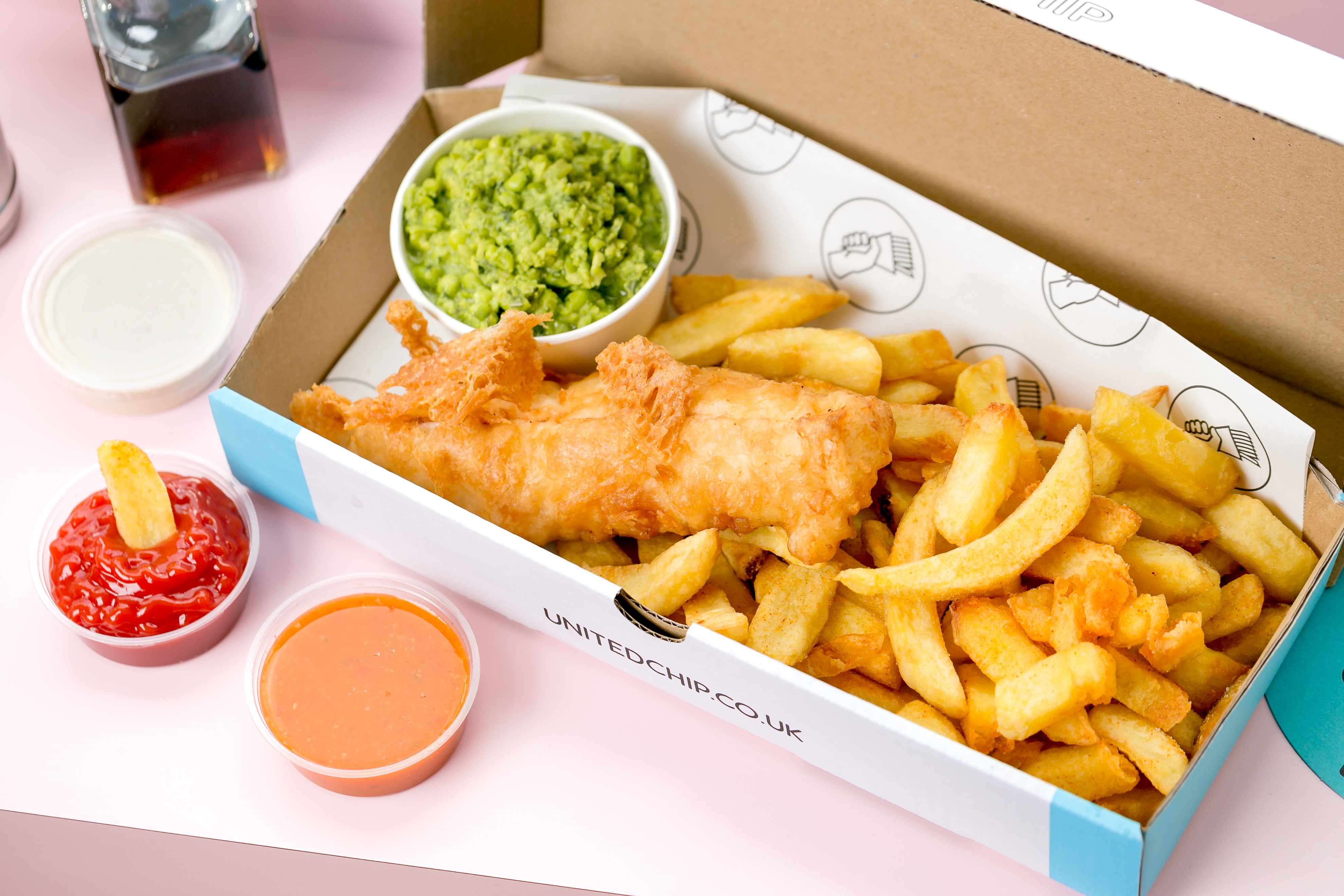United Chip, fish and chips in Clerkenwell