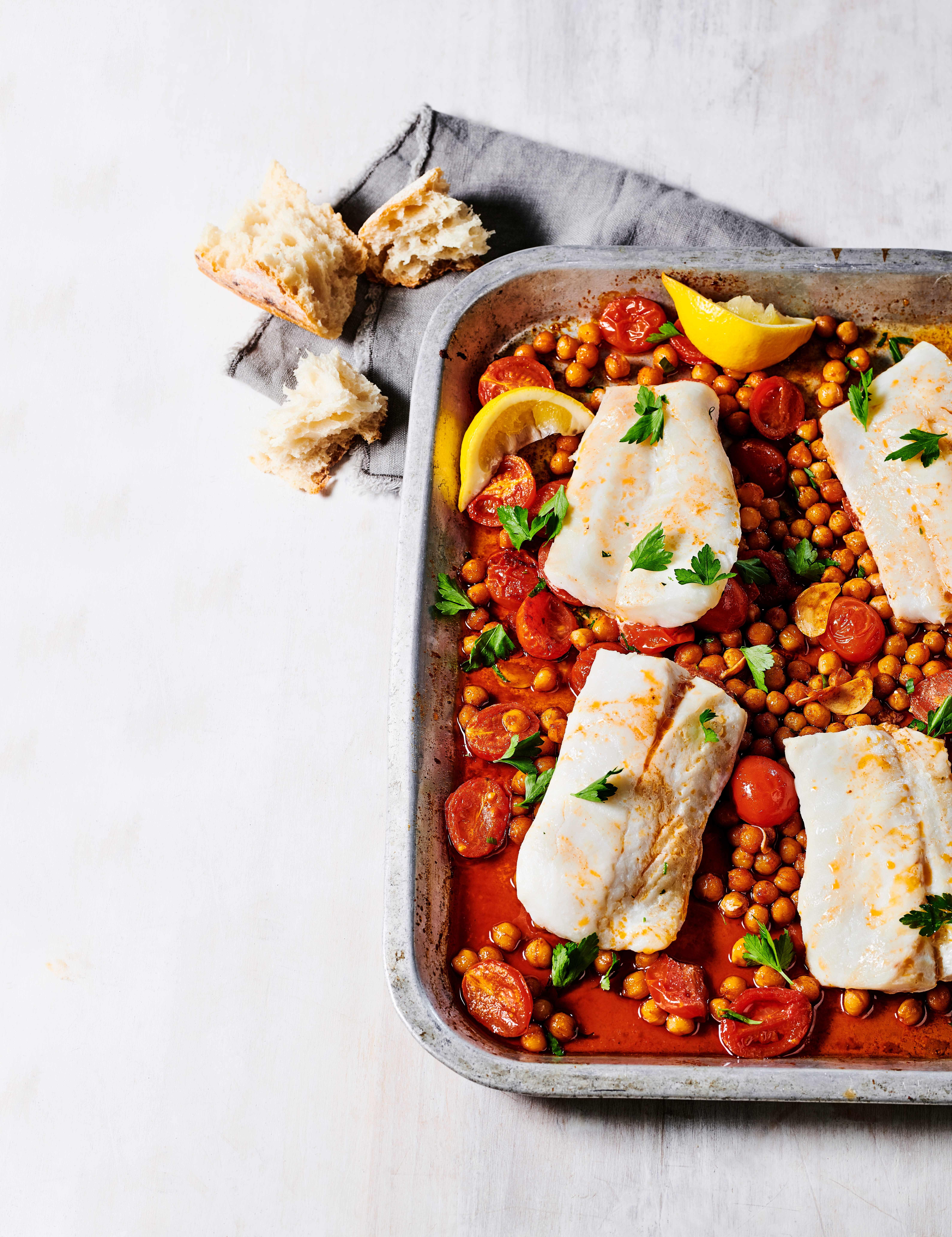 Cod and Chickpea One-Pot Recipe