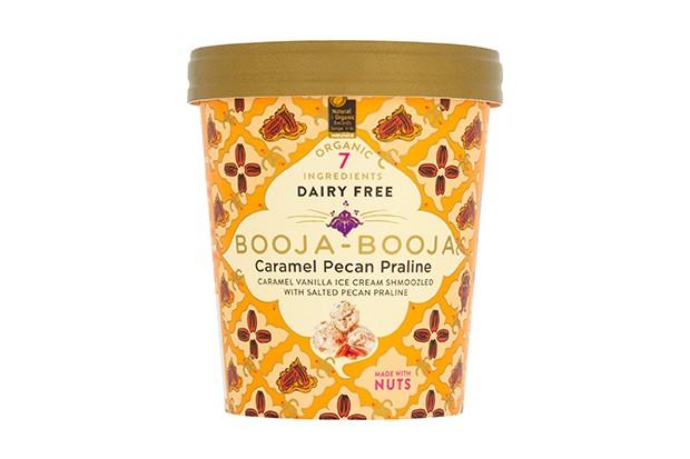 Booja-Booja dairy-free caramel pecan praline ice cream