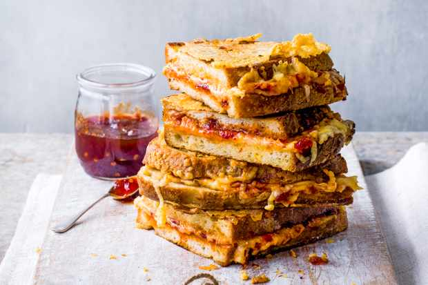 Chilli Cheese French Toast Recipe