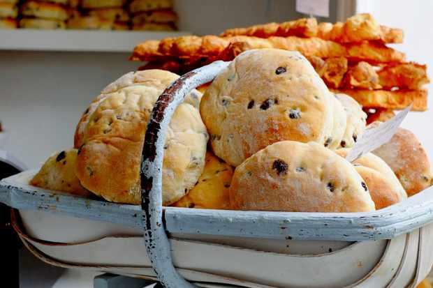 Tea cakes at Cinnamon Twist artisan bakery in Helmsley