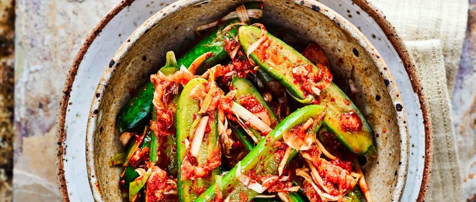 Cucumber Kimchi Recipe Olivemagazine