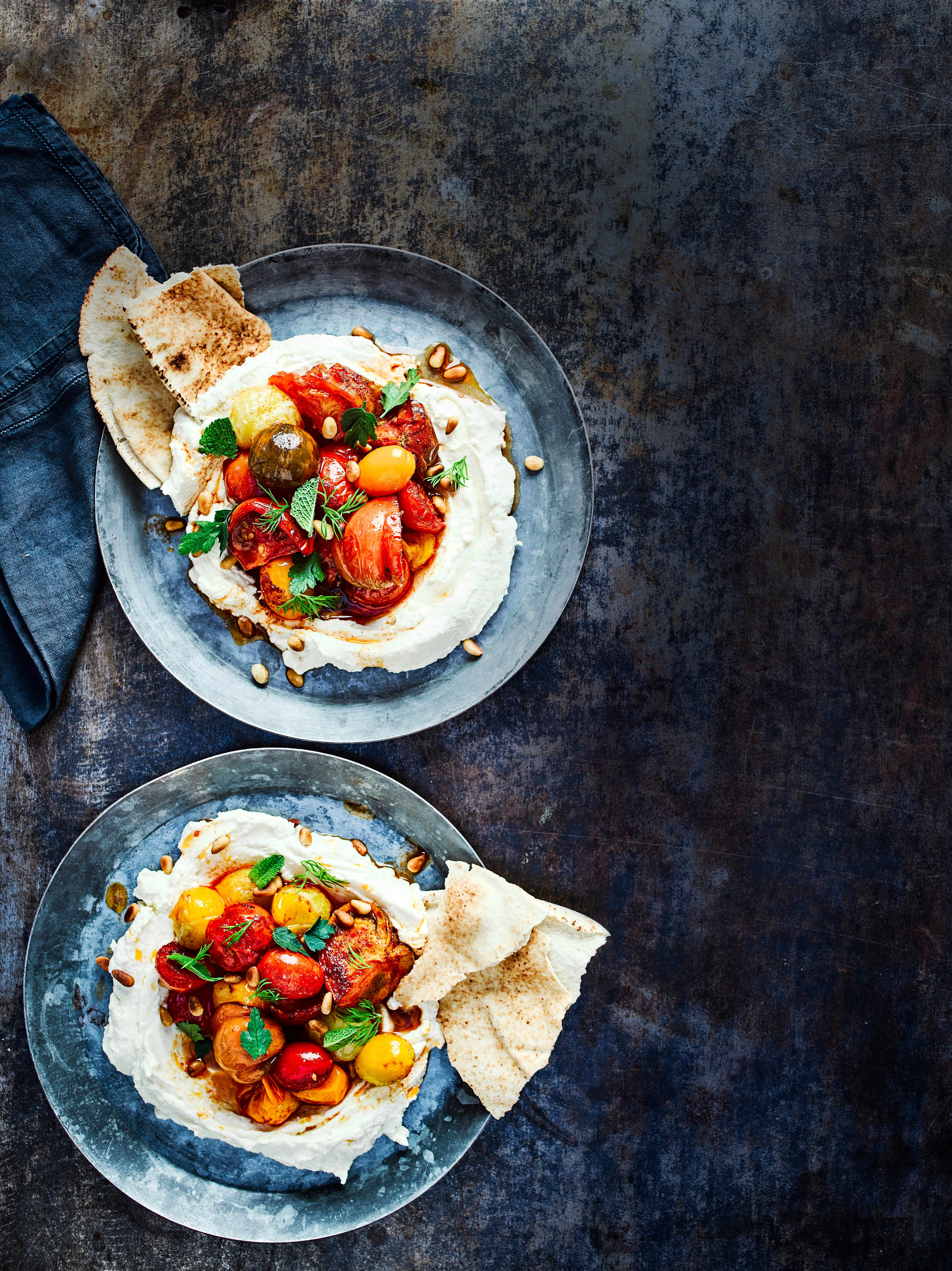 Labneh Recipe with Hummus