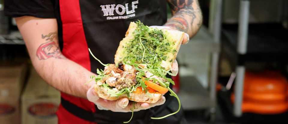 Piada at Wolf Street Food, Leeds